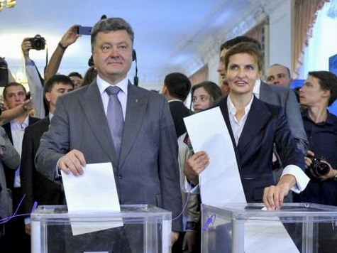 Ukraine Exit Polls: Petro Poroshenko Wins First Round at 55.99%