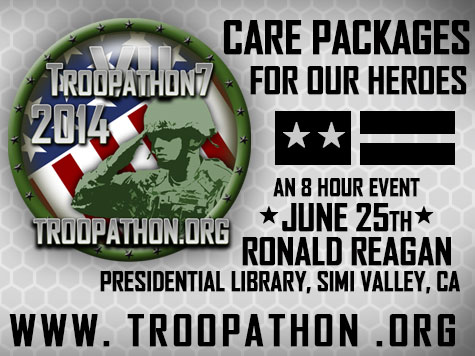 Troopathon-7 2014: Care Packages Bring Troops Love and Support from Back Home
