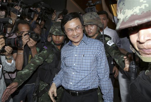 Thai Troops Detain Government Minister Who Blasted Coup