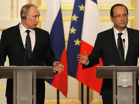 Hollande to Meet with Putin Ahead of D-Day Anniversary; Poroshenko Also Invited