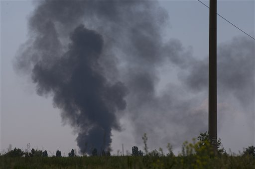 Ukraine Military Helicopter Down; at Least 12 Dead