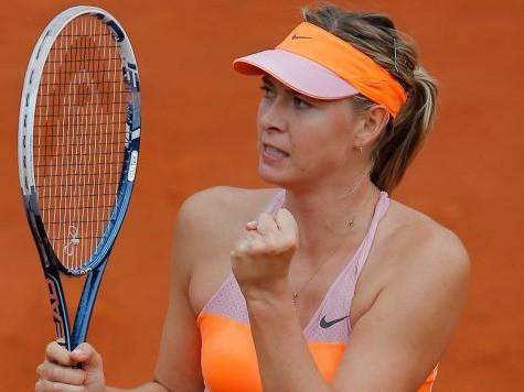 Simona Halep vs. Maria Sharapova in the 2014 Roland Garros French Open Finals