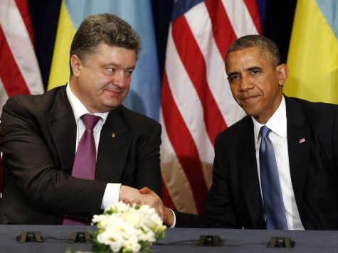 Barack Obama Meets with Ukraine President-Elect Petro Poroshenko