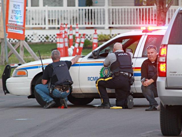 Canadian Shooting Spree Leaves Three Officers Dead, Gunman Still Fugitive