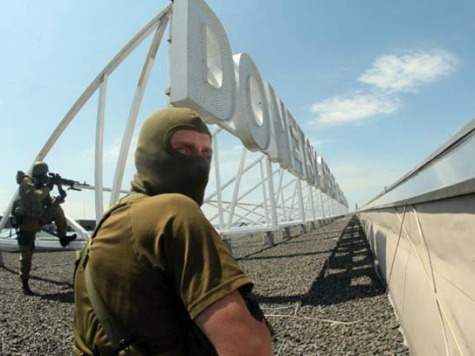 Pro-Russians Shoot Down Humanitarian Plane in Slaviansk, Ukraine