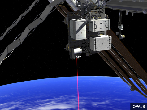 NASA: High-Def Video from Space Station to Earth Sent via Giant Laser Beam
