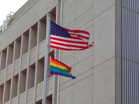 U.S. Ambassador to Israel Flies Gay Pride Flag over Tel Aviv Embassy