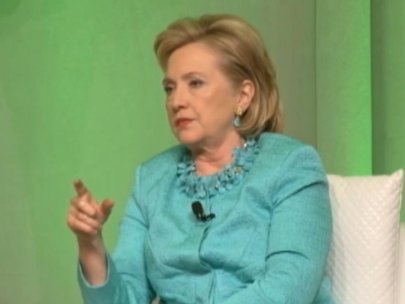 Hillary: Hamas Officials 'Largely Technocrats'