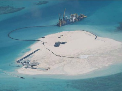 China Building Islands in Disputed Waters to Establish Sovereignty