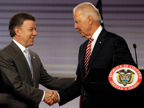 Biden Announces US Support for FARC Peace Talks in Colombia