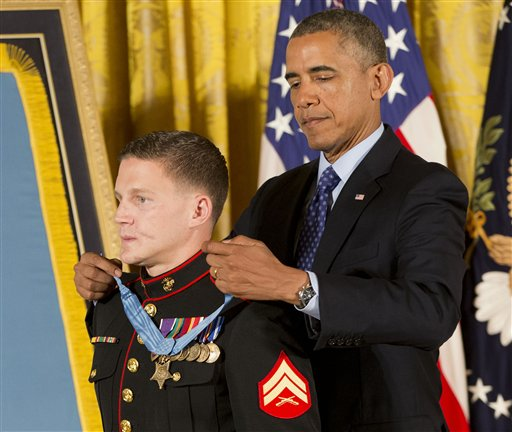 Afghanistan Vet Honored as New Troops Head to Iraq