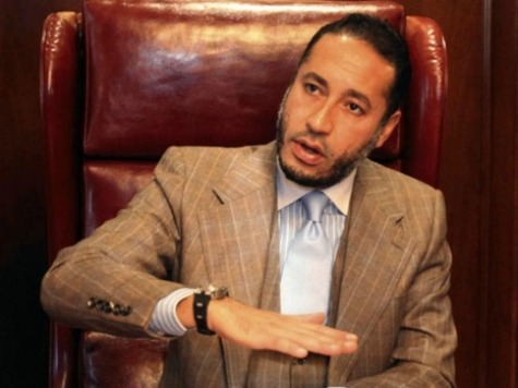 Muammar Gaddafi's Son Charged with Murdering Soccer Teammate in Libya