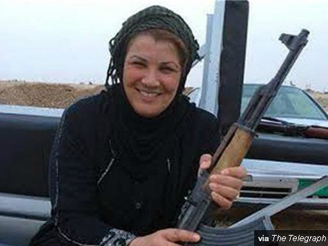 Female Sunni Iraqi Politician Killed Fighting ISIS with Rocket Launcher