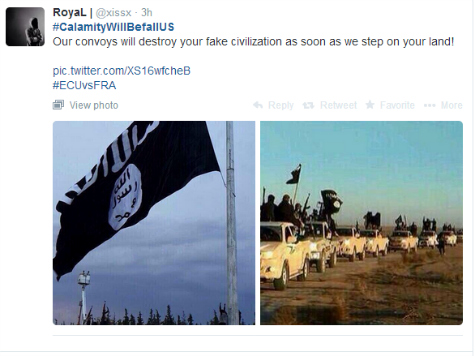 Emboldened ISIS Threatens Americans on Twitter