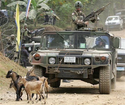 US Ends Philippines Anti-Terror Force