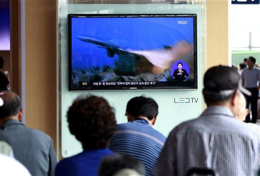 N. Korea Fires Projectiles Before Xi's Seoul Visit