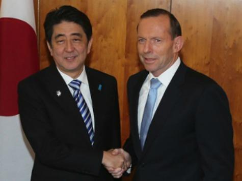 Australian PM Abbott Praises Japan, Warns China to 'Check Its Ambitions'