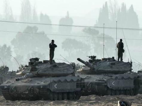 Israel Considers Ground War in Gaza