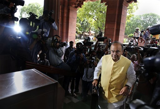 India's New Government Unveils Growth Budget