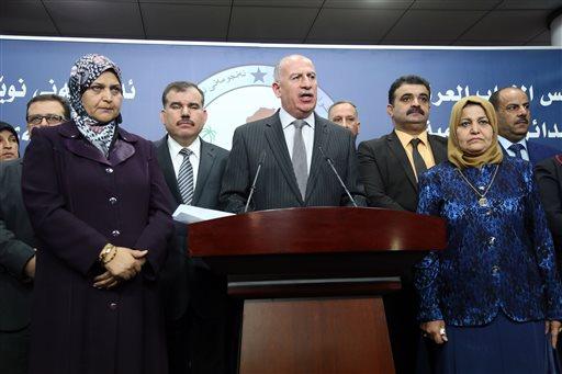 Iraq Parliament Postpones Decision on New Leaders