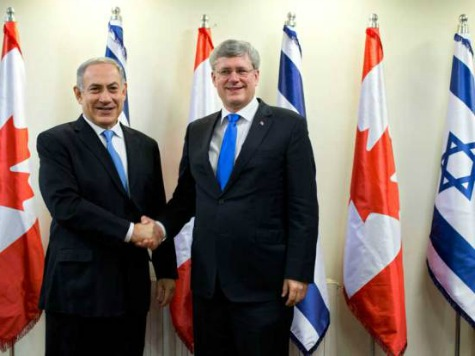 Canadian Prime Minister Condemns Obama, West for Not Supporting Israel