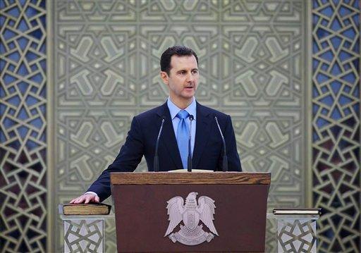 Assad Confident in Inauguration Speech