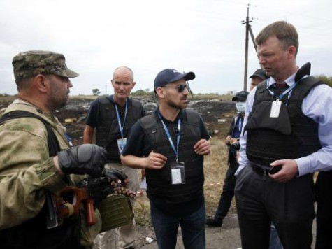 As Pro-Russians Block Malaysia Flight MH17 Site, Help from Russia Requested