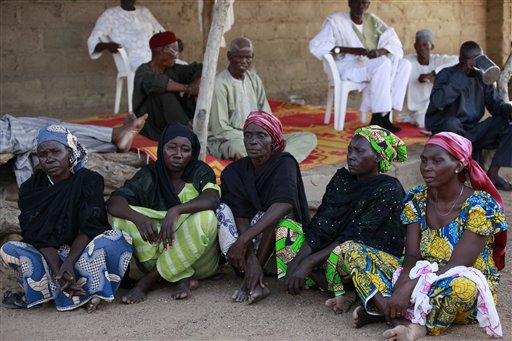 Parents of Abducted Girls, Escapees Meet President