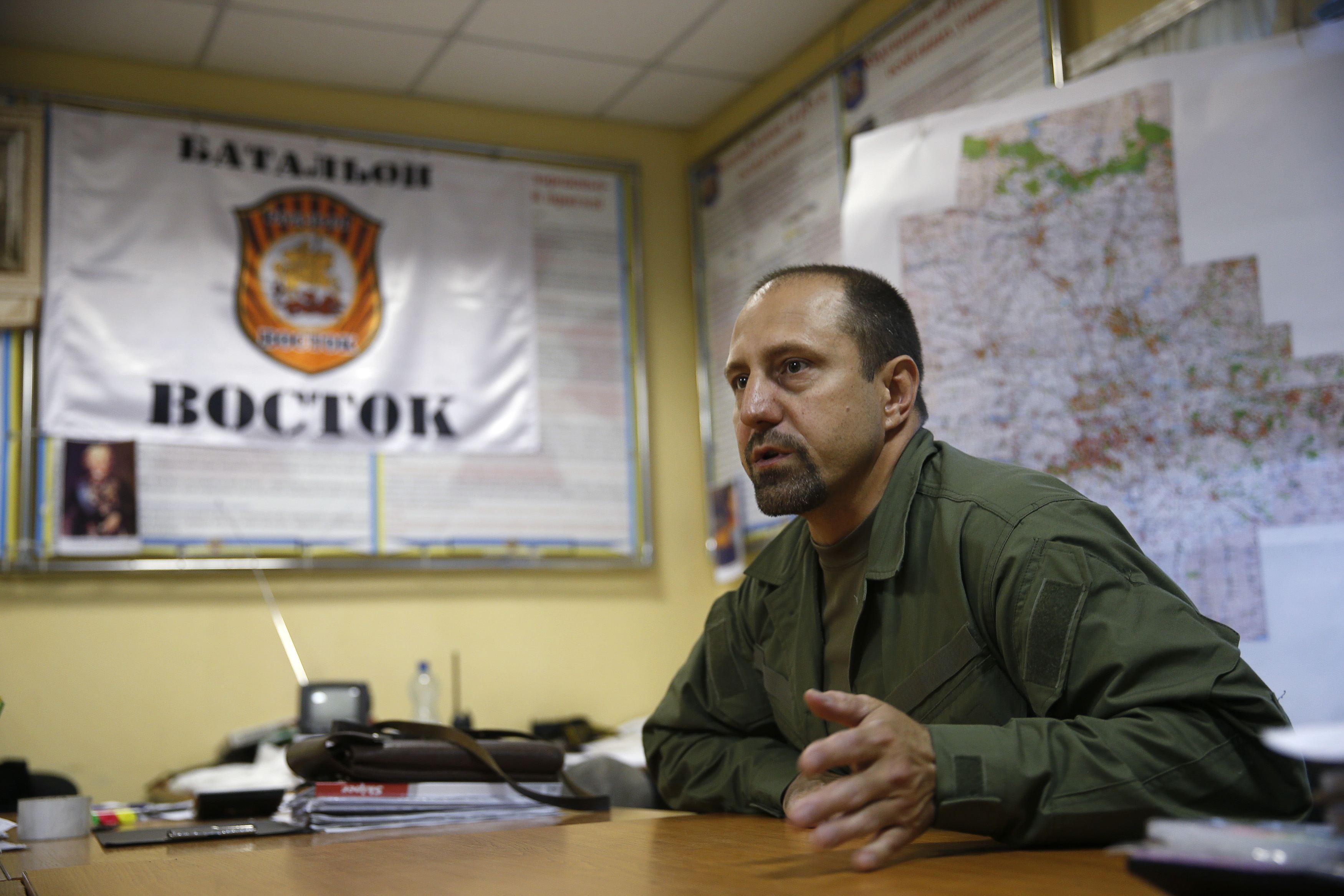 Ukraine Rebel Commander Acknowledges Fighters Had BUK Missile