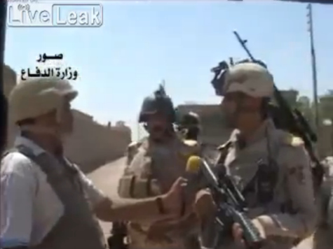 Iraqi Army Releases Video of Anti-ISIS Operation in Attempt to Win Propaganda War