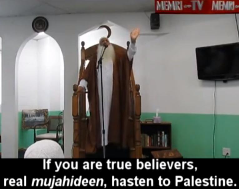 MEMRI: Chicago Imam Preaches Jihad Against Israel