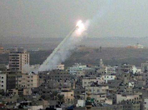 Hamas Rocket Fire Prevents Aid from Reaching Gaza