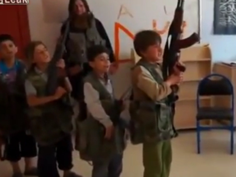 ISIS Releases Video of Child Training Center with Omar al-Shishani