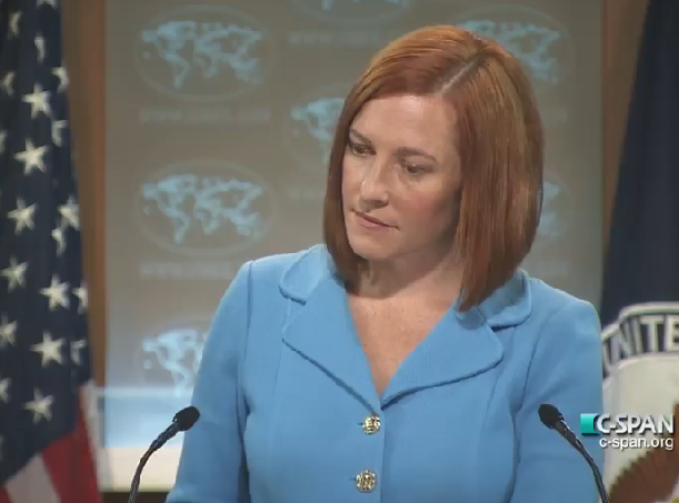 Video: State Dept's Psaki Can't Handle the Truth About Palestinian Terrorism