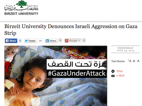 West Bank Feminist Academics Condemn Israel (!) For Promoting Rape, Sexism, and Genocide.