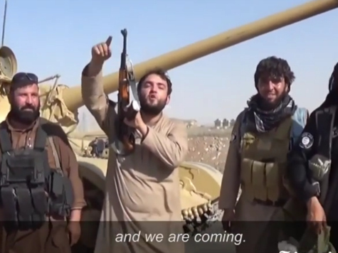 ISIS: 'We Are the Soldiers of the Caliphate State and We Are Coming'