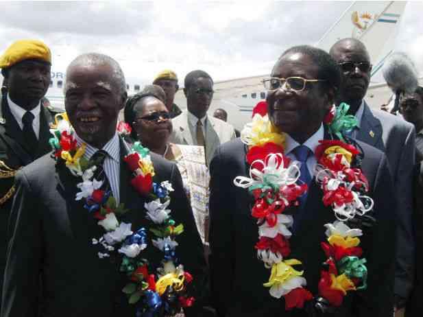 South Africa's Mbeki, Mugabe's Accomplice, Calls for Israel Boycott