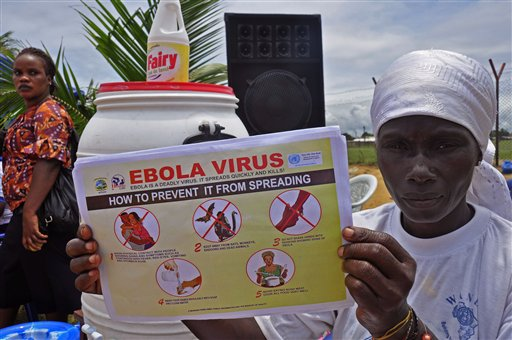 Ebola: 3 athletes can't compete at Youth Olympics