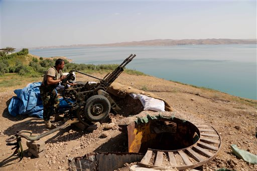 US Strikes in Iraq Aimed at Helping Reclaim Dam