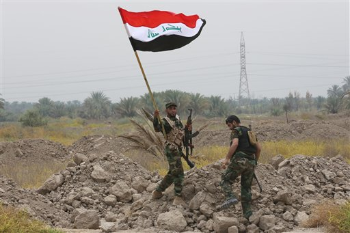 Iraqi Military Clashes with Islamic State Terrorists in Tikrit