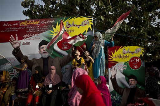 Protesters Set to March on Pakistan's Parliament