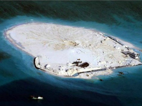 China Now Reclaiming Islands in Philippines' Kalayaan Island Group