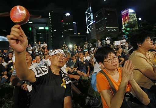 Hong Kong Democracy Activists Blast 'Shameful' Britain