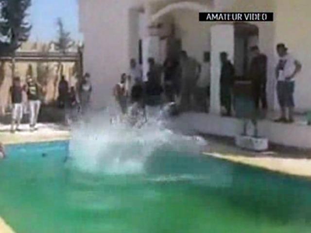 Video: Libyan Militia Parties, Swims at Seized U.S. Embassy in Tripoli