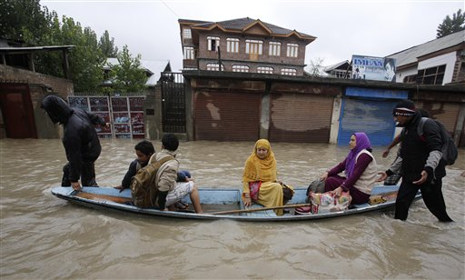 Bus Swept Away by Stream in Kashmir; 70 missing