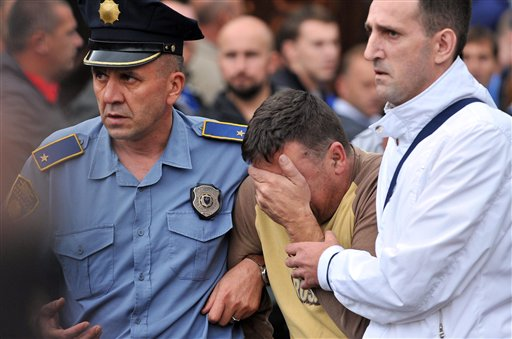 Bosnian Mine Accident: 29 Rescued, 5 Miners Buried