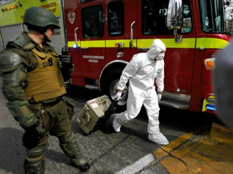 Terrorist Attack in Santiago Chile Leaves Fourteen Wounded
