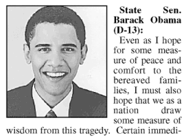 Barack Obama, September 11th, 2001: 'A Failure of Empathy'