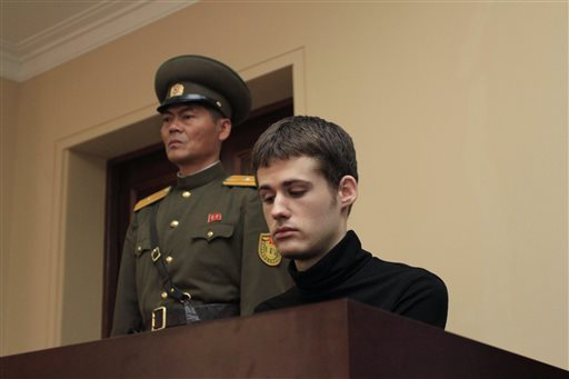 U.S. Man in North Korea Given 6 Years of Hard Labor