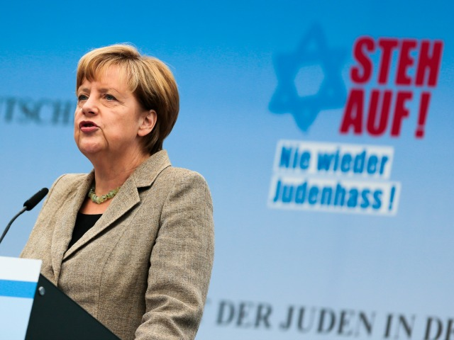 Angela Merkel Leads Berlin Rally Against Anti-Semitism